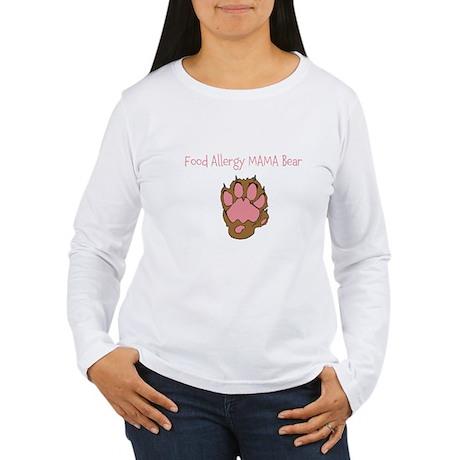 Food Allergy Mama Women's Long Sleeve T-Shirt