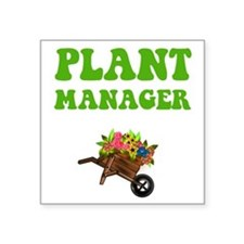 Plant Manager Square Sticker