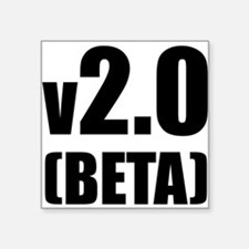 v2.0 Beta Creeper Square Sticker