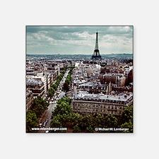 Paris 1963 Square Sticker
