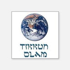 Tikkun Olam Square Sticker