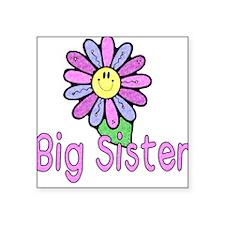 Big Sister Flower Creeper Square Sticker