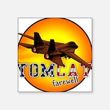 f-14 tomcat farewell Square Sticker