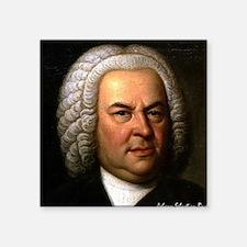 """Faces """"Bach"""" Square Sticker"""