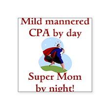 Accountant CPA Square Sticker