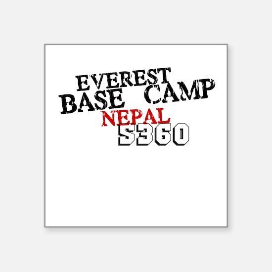 Everest Base Camp Square Sticker
