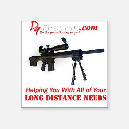 D9 Firearms Square Sticker