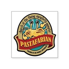 Pastafarian Seal Square Sticker