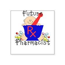 Future Pharmacist Square Sticker
