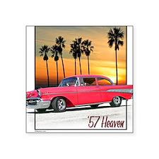 '57 Heaven Square Sticker