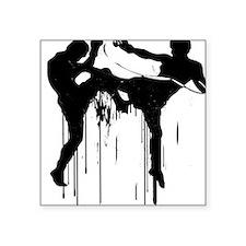 Fighter!! -- Square Sticker
