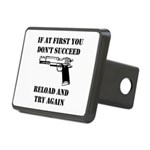 Reload Gun Black.png Rectangular Hitch Cover