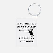 Reload Gun Black.png Keychains