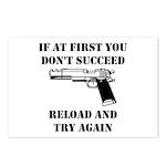 Reload Gun Black.png Postcards (Package of 8)