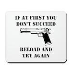 Reload Gun Black.png Mousepad