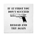 Reload Gun Black.png Queen Duvet