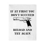 Reload Gun Black.png Twin Duvet