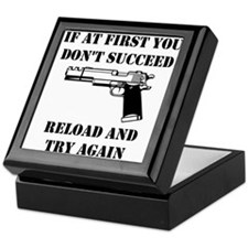 Reload Gun Black.png Keepsake Box