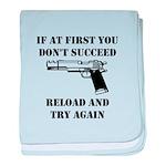 Reload Gun Black.png baby blanket