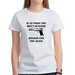 Reload Gun Black.png Women's T-Shirt