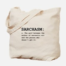 Sarchasm Definition Black.png Tote Bag