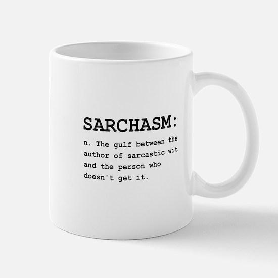 Sarchasm Definition Black.png Mug