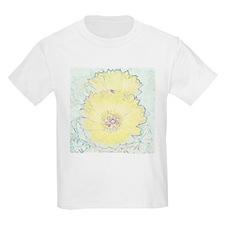 Yellow Barrel Cactus Flowers T-Shirt