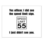 Speed Limit Black.png Small Poster