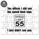 Speed Limit Black.png Puzzle