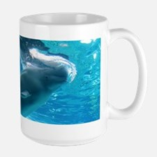 Close up of a Beluga Whale 2 Mug