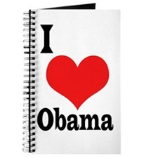 I Love Obama Journal