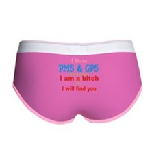 PMS and GPS.png Women's Boy Brief