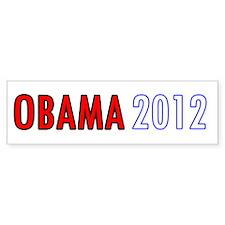 Cute Barrack obama 2012 Bumper Sticker