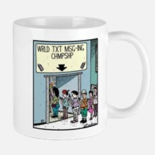 Wrld Txt Msg-ing Chmpshp Mug