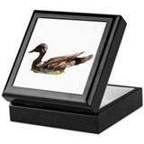 Mallard keepsake box Keepsake Boxes