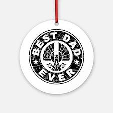 Best Dad Ever Ornament (Round)