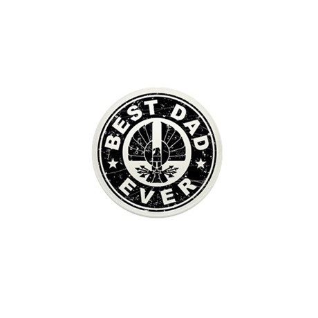 Best Dad Ever Mini Button (10 pack)
