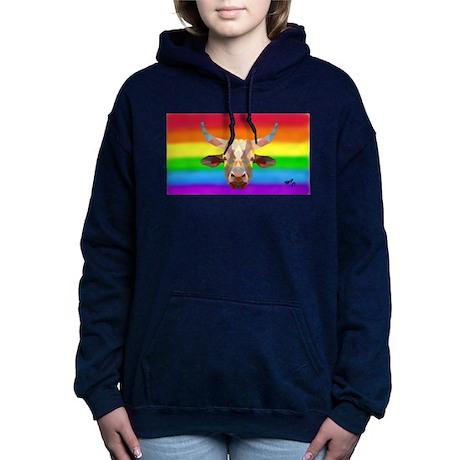STEER gay rainbow art Sweatshirt