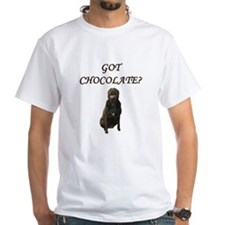 got chocolate? White T-Shirt