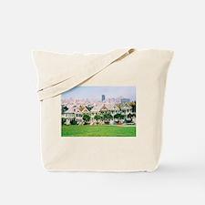 San Francisco Painted Lady Tote Bag