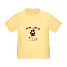 Don't Shop Adopt T