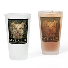 Save A Life Drinking Glass