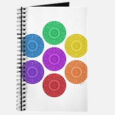 seven chakras circle bold Journal