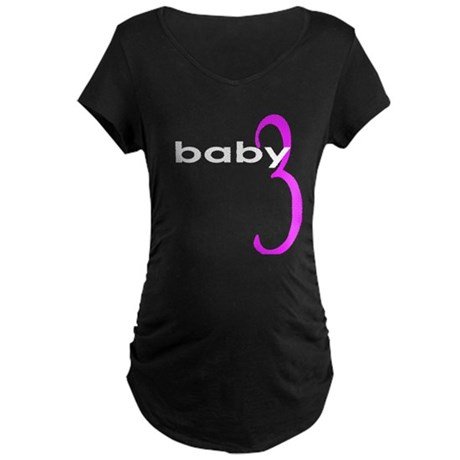 baby3W.png Maternity Dark T-Shirt