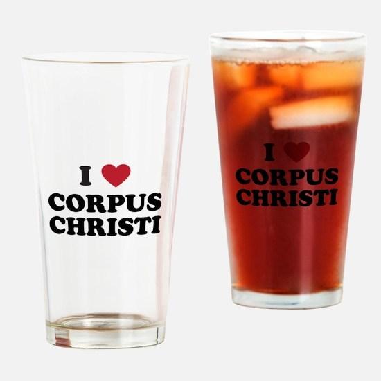 CORPUSCHRISTI.png Drinking Glass