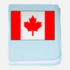 canadaflagBORDER.png baby blanket