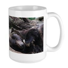 A Sleeping Grizzly Bear Mug
