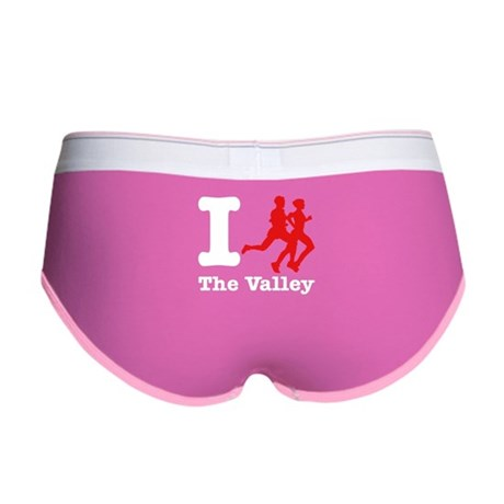 I Run The Valley Women's Boy Brief