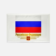 Russian Federation (Flag 10)2.png Rectangle Magnet