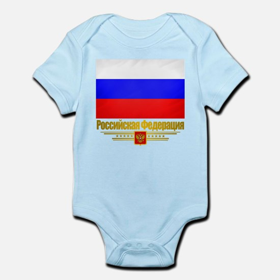 Russian Federation (Flag 10)2.png Infant Bodysuit